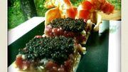 Tartare de langoustines et d'écrevisses au caviar « Avruga » et herbes fraîches
