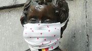 Manneken-Pis masqué, officiellement