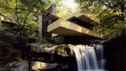 Maison de vacances d'architecte : Fallingwater de Frank Lloyd Wright