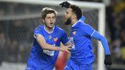 Menés 2-0 à la 87ème, les Buffalos arrachent un point à Lokeren