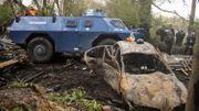 Les véhicules blindés sont rarement déployés : la dernière fois, c'était lors de l'évacuation de la ZAD de Notre-Dame-des-Landes en avril.
