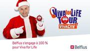 Le Viva for Life Tour à Liège