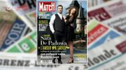 Sara de Paduwa en couverture du Paris Match...