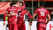 Les Red Lions disposent de l'Espagne 7-3 dans leur 1er match à domicile et reprennent la tête