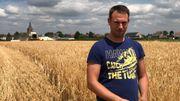 Adrien Rasse se dit confiant dans cette récolte d'escourgeon