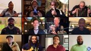 """[Zapping 21] Sting reprend """"Don't stand so close to me"""" avec Jimmy Fallon, The Roots et des instruments étonnants"""
