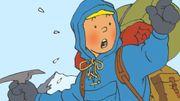Pierre Kroll -  Sur les traces enneigées de Tintin