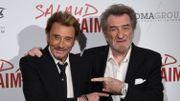 Hallyday, Mitchell et Dutronc, un trio de légende de la chanson française réuni sur scène