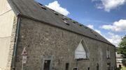 L'arrière de la ferme Walkens à Couvin en voie de déclassement