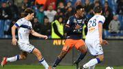 Isaac Mbenza inscrit un doublé avec Montpellier