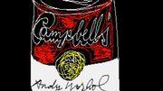 Découverte d'oeuvres numériques d'Andy Warhol dans sa ville natale