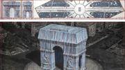 Hommage à Christo: l'Arc de Triomphe sera empaqueté en2021