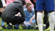 Nouvelle inquiétude pour les Diables Rouges : Kevin De Bruyne sort sur blessure face à Chelsea