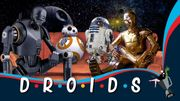 Mashup: les droïdes de 'Star Wars' en mode Friends