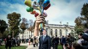 """Finie la polémique ? Le """"Bouquet de Tulipes"""" de Jeff Koons dévoilé à Paris"""