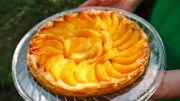 Une tarte aux abricots... mmmh!