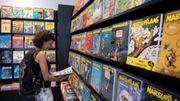 Le marché du livre se maintient en Wallonie et à Bruxelles grâce aux exportations de BD
