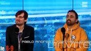 L'humoriste Pablo Andres assistant coach de Matthew Irons dans The Voice