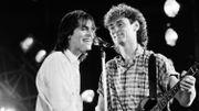 Revivez le passage du duo Jean-Jacques Goldman-Michael Jones en 1986 à la RTBF