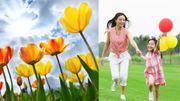 Courage, le printemps s'installe et les vacances de Pâques approchent