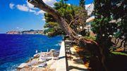 Vue incroyable sur la mer Adriatique