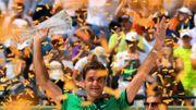 Federer ne prévoit pas de rejouer avant Roland Garros