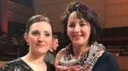 Premières réactions de Charlotte Wajnberg et Marianne Croux, finalistes du Concours Reine Elisabeth
