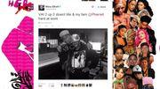 Missy Elliott en studio avec Pharrell Williams