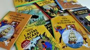 Une planche de Tintin vendue 2,5 millions d'euros, record mondial en bande dessinée