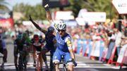 Lampaert fait coup double sur la Vuelta grâce à un superbe numéro de finisseur
