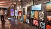 L'Espace 58 à Andrimont (Dison) offre un lieu d'exposition à 36 artistes