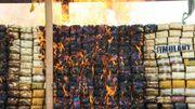 La Birmanie et la Thaïlande brûlent près de 900 millions d'euros de drogue