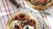 """Recette : Pizza """"maison"""" aux légumes et au chèvre"""