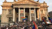 Kiss-In: un rassemblement pour dénoncer l'agression homophobe de samedi à Bruxelles