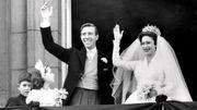 Le mariage de la princesse Margaret avec Antony Armstrong-Jones le 6 mai 1960