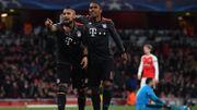 Arsenal mène puis en prend cinq comme à l'aller, le Bayern facilement en 1/4