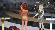 Corinne Masiero (Capitaine Marleau) nue à la cérémonie des César 2021!