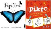 """""""Papillon"""", un jeu plein de poésie et """"Pikto"""", un jeu rempli d'imagination à découvrir"""