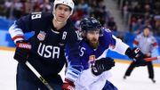 Hockey: les États-Unis, soulagés, vont en quarts