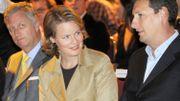 Philippe et Mathilde visitent Studio 100 en septembre 2008.
