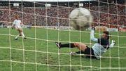 Le tir au but victorieux de Léo Van der Elst