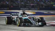 Hamilton, impérial à Singapour, repousse Vettel à 40 points, Vandoorne douzième