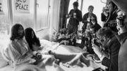 """""""Bed In"""", où une expression du pacifisme de John Lennon et Yoko Ono"""