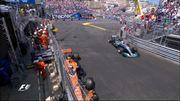 Vandoorne en Q3 mais planté dans le rail, il sera 12e sur la grille à Monaco