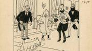 Une couverture d'Hergé trouve preneur à près de 540.000 euros