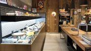 Un magasin et une salle de dégustation !