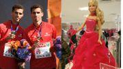 Sport et poupée au programme du prochain Grand Cactus, la famille Borlée et Barbie!