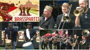 REPORTAGE | Des fanfares s'affrontent dans une joute amicale et festive au BrassPartij à Anvers