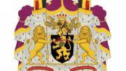 Albert II a également de nouvelles armoiries. Elles se distinguent de celles du couple régnant par un heaume ouvert tourné de trois quarts.