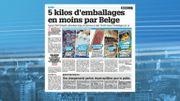 5 Kg d'emballages en moins par Belge